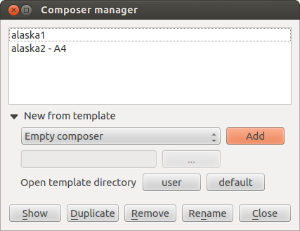 Overview of the Print Composer