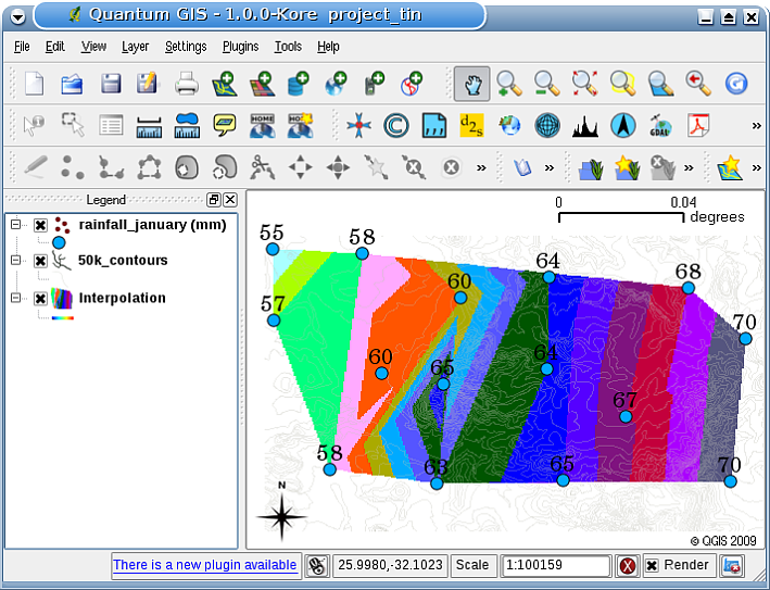 Spatial Analysis (Interpolation)