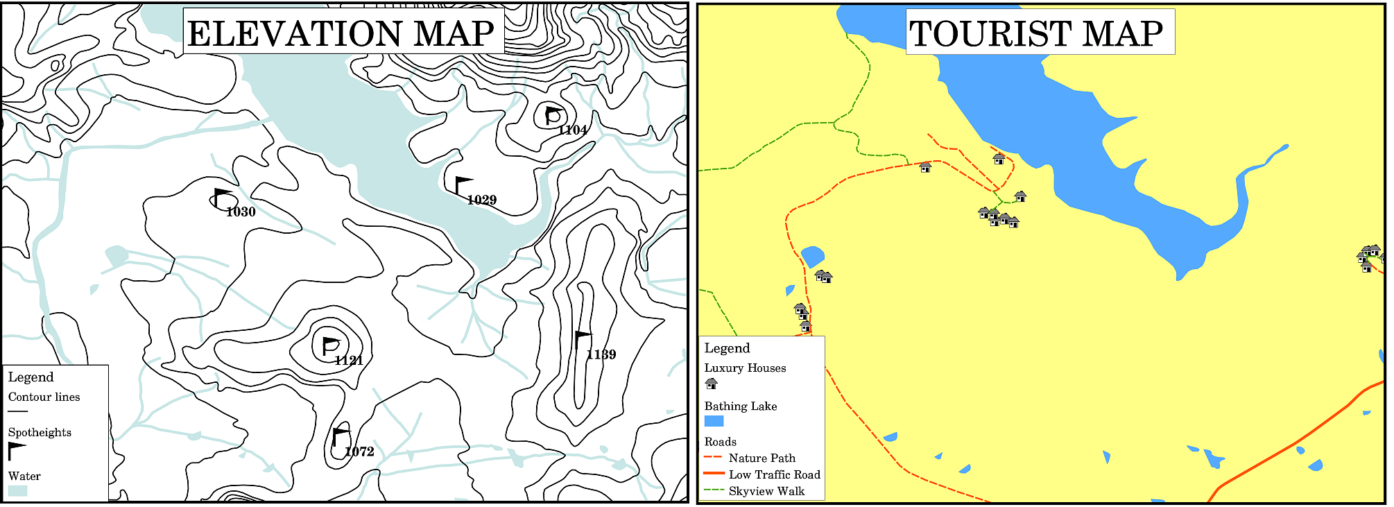 Map Production – Map Detail