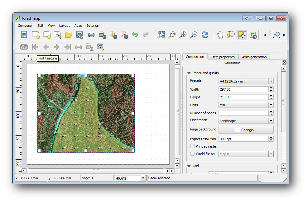 14 6  Lesson: Creating Detailed Maps with the Atlas Tool