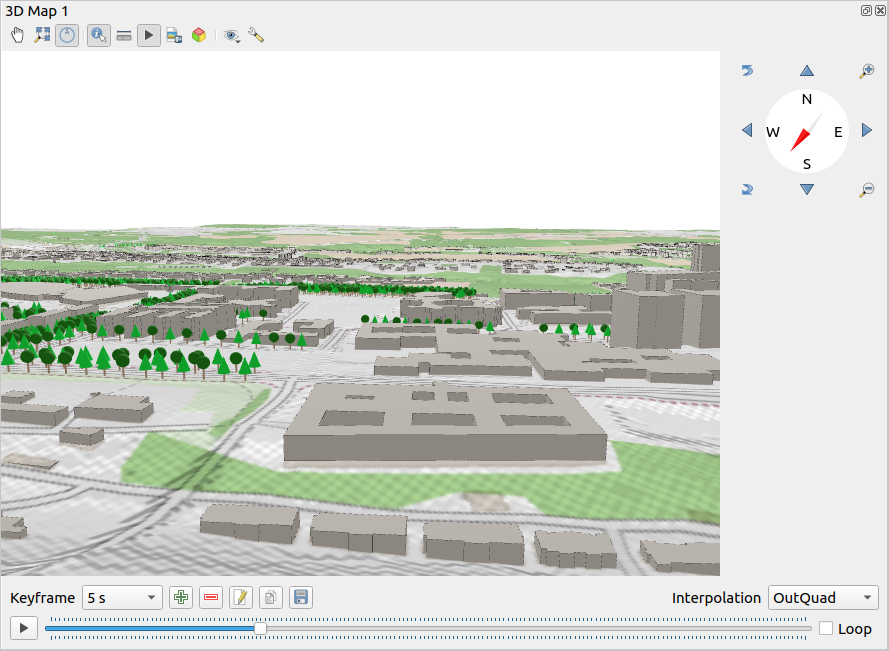 Example: 3D map view